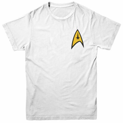 Series Vintage Figure Pocket Design Adult /& Kids Tee Top Star Trek T-Shirt
