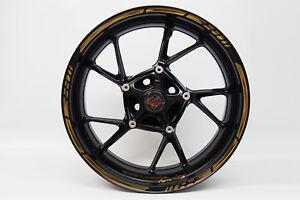 """LISERET AUTOCOLLANT 720000 GP-STYLE Golden/Bronze Pour 16"""" 17"""" 18"""" Pouces  </span>"""