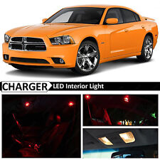 18x Red Interior LED Lights Package Kit for 2011-2014 Dodge Charger