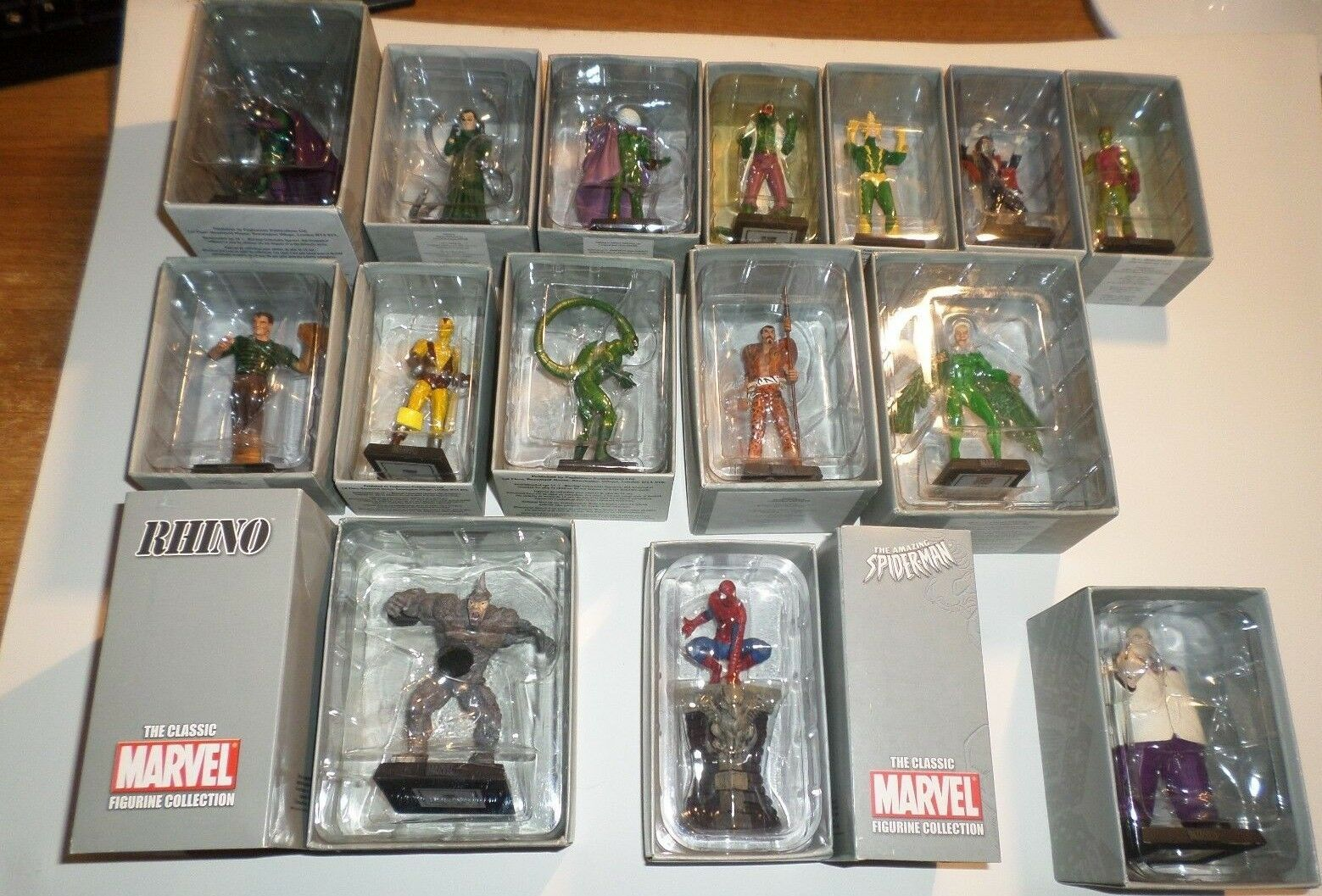 THE CLASSIC MARVEL FIGURINE COLLECTION 15 action figure spide-rman eaglemoss