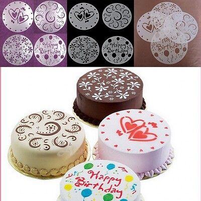 New Design Flower Heart Balloon Cake Mould Cake Sugar Fondant Cutter Decorating