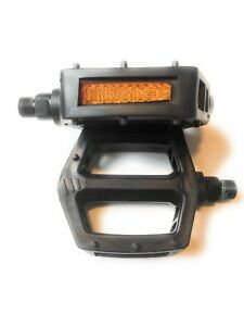 Stolen Throttle 9//16 Alloy Pedals Black