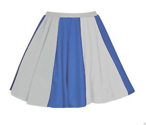 "Analytisch Ladies Greece Flag 15"" Skater Panel Skirt Greek Patriotic Fancy Dress"
