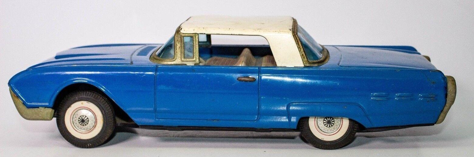 Vintage Blech Reibung Bandai 597mS Ford Thunderbird