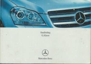 MERCEDES-GL-Klasse-Handleiding-2006-Betriebsanleitung-X-164-Instructieboekje-BA