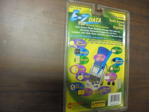 Columbia E-Z Data PDA Personal Digital Assistant with FM Radio and Autoscan PD76