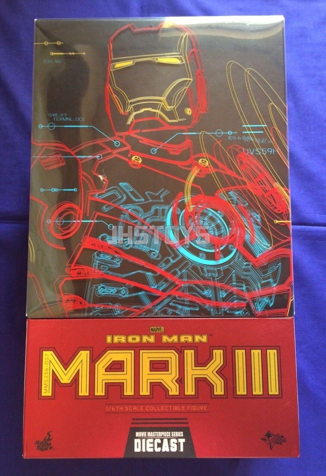 Heta leksaker 1  6 Iron Man Mark 3 III MMS255D07 tärningskast japan