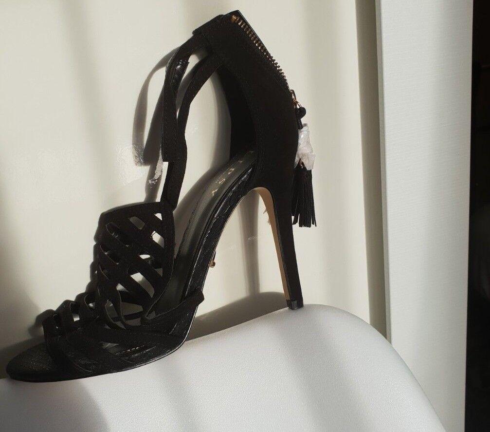 Lipsy Esme Black Heels SIZE 6