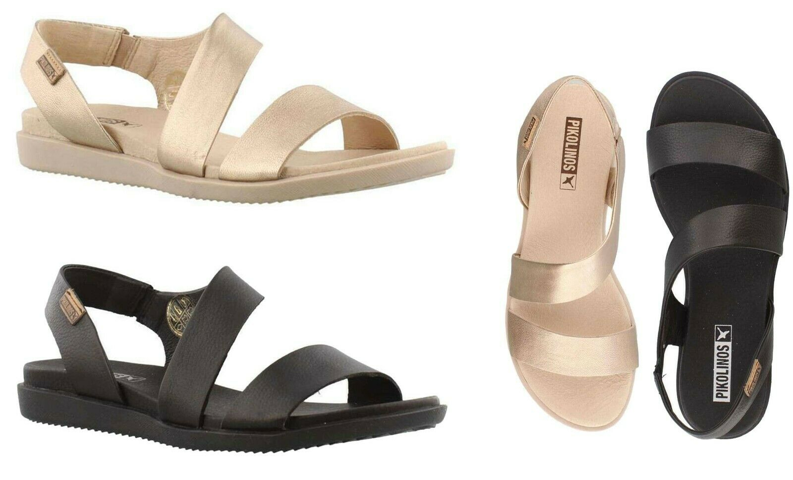 c045e77595dae NEW Pikolinos Women's Antillas Leather Open Toe Comfort Sandals ...