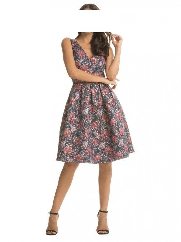 Designer Kleid Chi Chi London Juliette Größe 42 44 44 44 UK 16 NEU 75a6fb