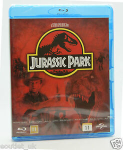 Jurasico-Parque-Blu-Ray-Region-B-Nuevo-Sellado
