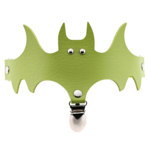 Fashion Women Halloween Bat Leg Body Punk Harness Garter Thigh Suspender Belt DP
