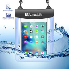 "Waterproof Pouch Underwater Diving Dry Bag Case Cover + Belt for 9.7"" Tablet PC"