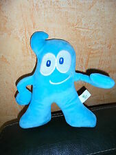 Doudou Peluche Bonhomme Bleu Mascotte de l'Expo 2010 Shanghai Chine  HAIBAO
