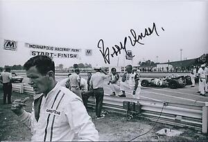 Bobby-Unser-SIGNED-Indianapolis-Raceway-CART-12x8-Photo-AFTAL-COA-Autograph