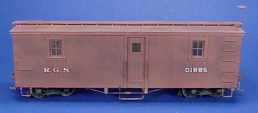 On3/On30 WISEMAN MODEL SERVICES RIO GRANDE SOUTHERN OUTFIT CAR  01885