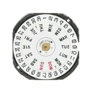 Hattori-Seiko-VX33E-Quartz-Watch-Movement-Day-amp-Date-3-New-with-Battery-VX33