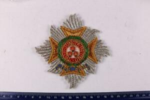 THE MOST HONOURABLE ORDER OF THE BATH KNIGHTHOOD BREAST STAR BADGE EMBROIDERED