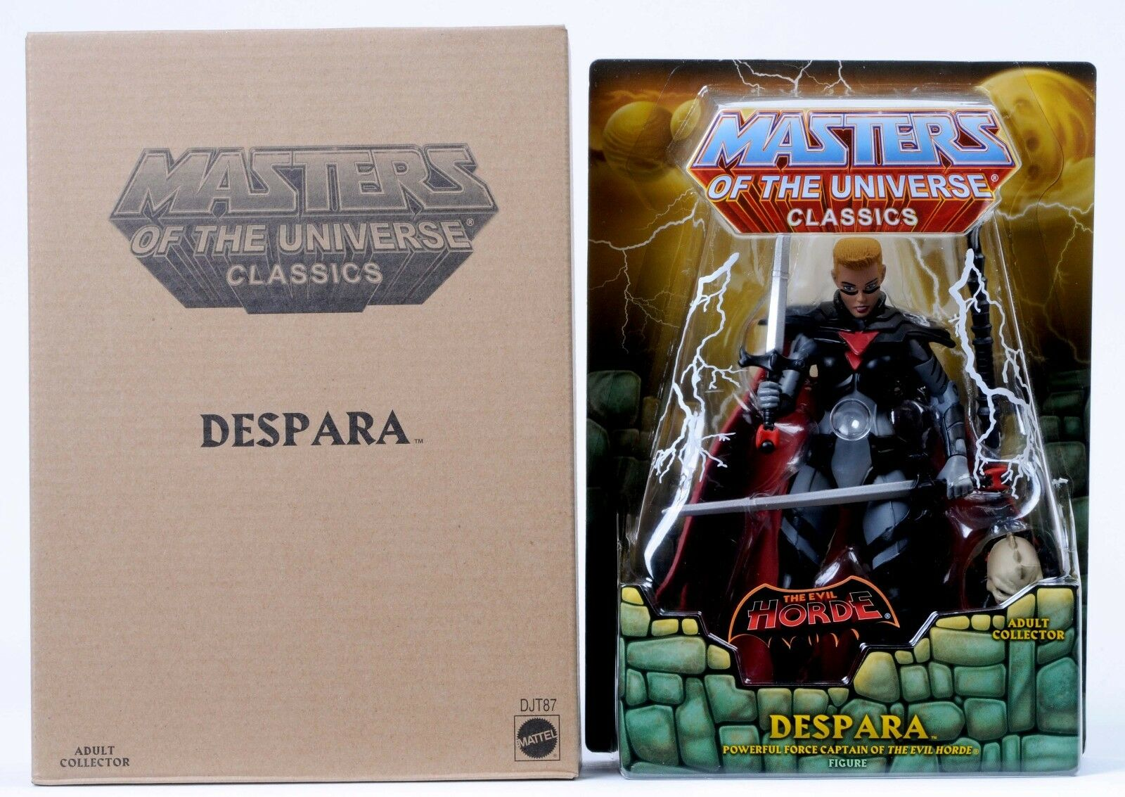 2016 Mattel MASTERS OF THE UNIVERSE despara MOTUC Masters of the Universe Classics Comme neuf on Card