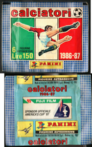 Bustina-Figurine-Calciatori-Panini-1986-87-Nuova-Sigillata