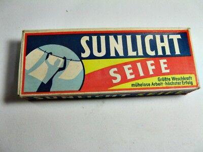 Aggressiv Sunlicht Seife Doppelstück Um 1930 - Keine Repro - Original Alt - Vintage (2)