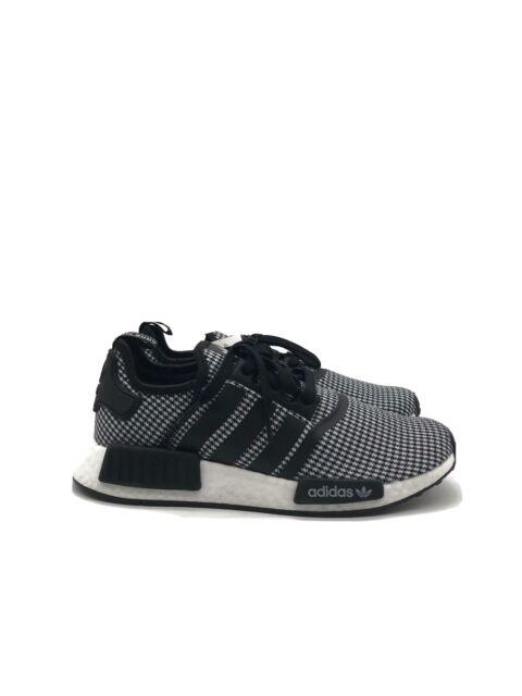 adidas nmd mens black and white