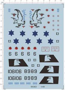 1-48-Israeli-airforce-F15-F15I-Model-Kit-Water-Decal