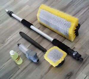 Car-Truck-Wash-Kits-3m-Telescopic-Pole-choose-extras