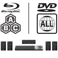 Sony BDVN5200WB.CEK 3D Full MultiRegion Blu-ray 5.1 Home Cinema System