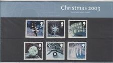 GB 2003 CHRISTMAS  PRESENTATION PACK No. 353 SGG 2410-2415 MINT STAMP SET
