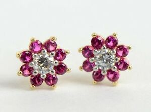 14k-Yellow-Gold-Flower-Stud-Earrings-with-screw-back