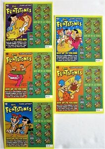 Details about The Flintstones Instant Lottery Ticket Set, Fred Flintstone  and more