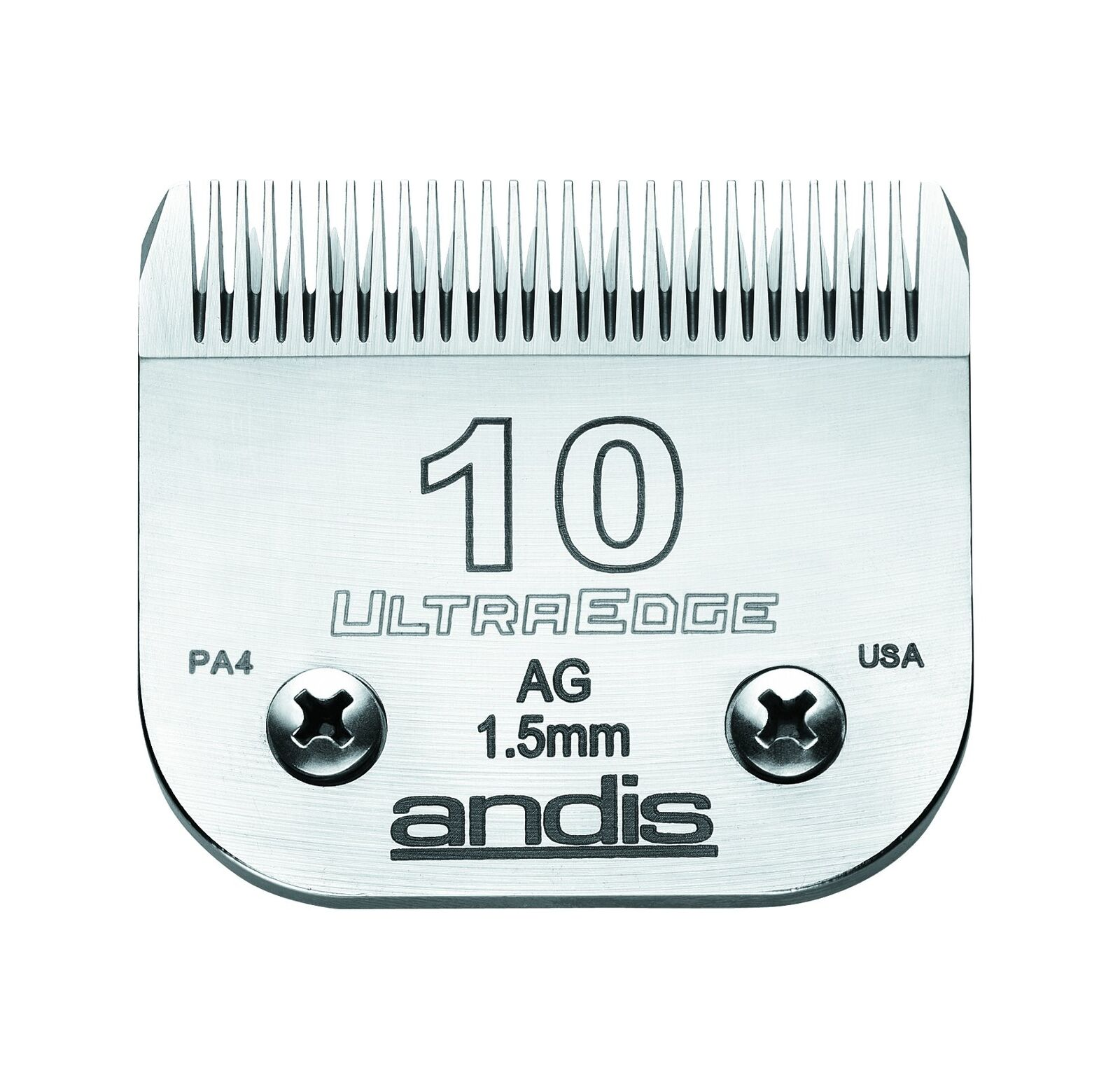 Andis Carbon-Infused Steel UltraEdge Dog Clipper Blade Size-10 1 16-Inch Cut ...
