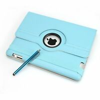 For Apple iPad 2/3 360 Rotating Magnetic PU Leather Case Smart Cover Stand