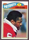 1977 Topps Sam Adams #14 Football Card