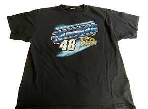 Jimmie Johnson Chase Authentic 2012 NASCAR Sprint Cup Series TShirt Size 2XL