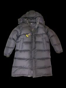 Polo-Ralph-Lauren-Mens-Hooded-Puffer-Down-Coat-Aviator-Navy-Blue-Large-NWT-Parka