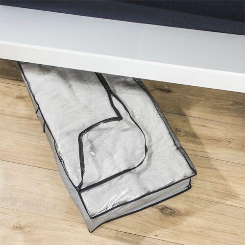 102 x 45 x 15 cm grau 1 Stück Unterbett Kommode Unterbettkommode Aufbewahrung