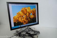 "Dell 2007FP UltraSharp 20"" LCD Monitor w/4-Port USB Hub VGA 12V DVI C9536 G324H"