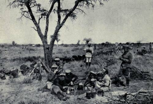 """German Army Soldiers in German Southwest Africa World War 1 6x4/"""" Repro Photo a"""