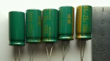 5 x 25v 1500uF Capacitors - LCD / PLASMA TV Repair Kit Replacement 10v 16v 105