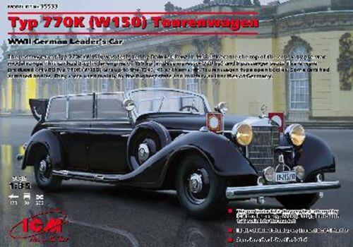 KIT ICM 1//35 REF 35533 W150 TOURENWAGEN DAIMLER-BENZ TYPE 770K