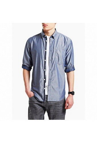 Jack & Jones Core Slim Daimon shirt à à à manches longues 100% coton 4bee4f