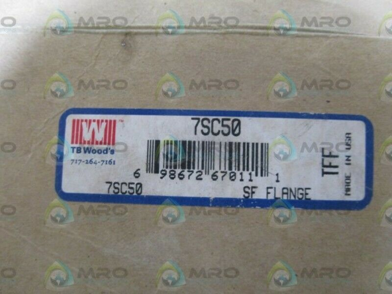 TBWOODS SF FLANGE COUPLING 7SC50 NEW IN BOX