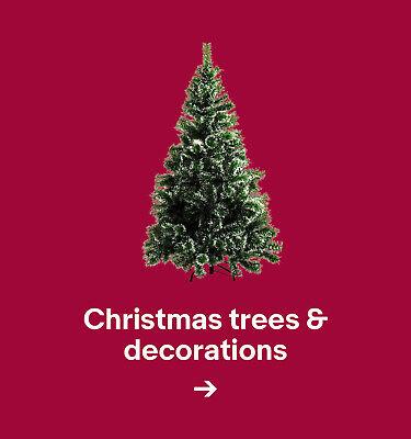 Christmas trees & decorations