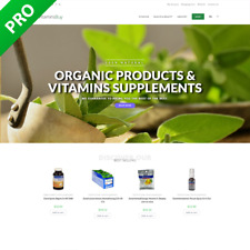 Vitamins Natural Products Dropshipping Store Dropship Turnkey Website Shop