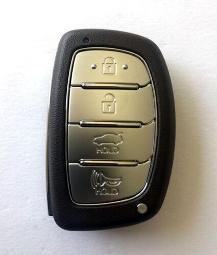 Smart Key FOB Blank Emergency Insert Key for 2018 Hyundai Sonata Limited