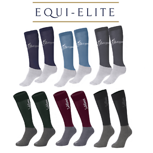 LeMieux Competition Socks - Close Contact Riding Socks Twin Pack