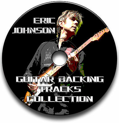 ERIC JOHNSON STYLE MP3 ROCK BLUES GUITAR BACKING TRACKS COLLECTION JAM TRACKS