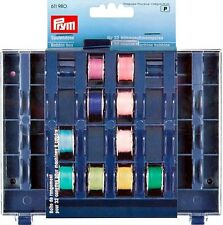 PRYM EMPTY BOBBIN BOX HOLDS 32 BOBBINS (611 980) SEWING ACCESSORIES FREE P&P